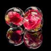 Шар с розой
